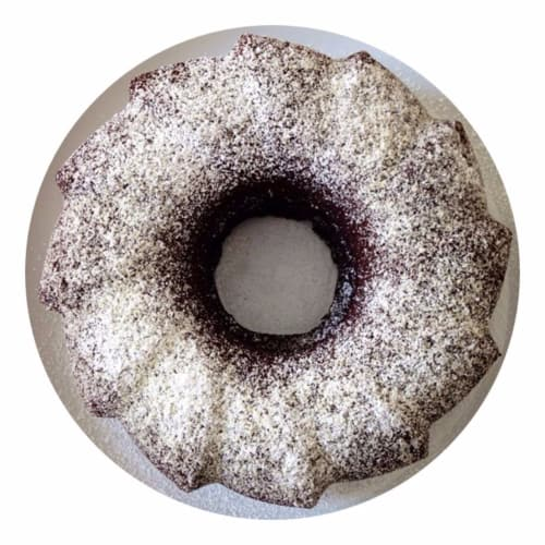 Bundt Cake with chocolate