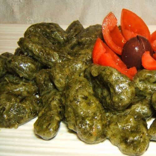 Gnocchi brócoli vegetariana