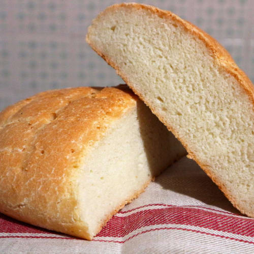 Pane casereccio senza glutine