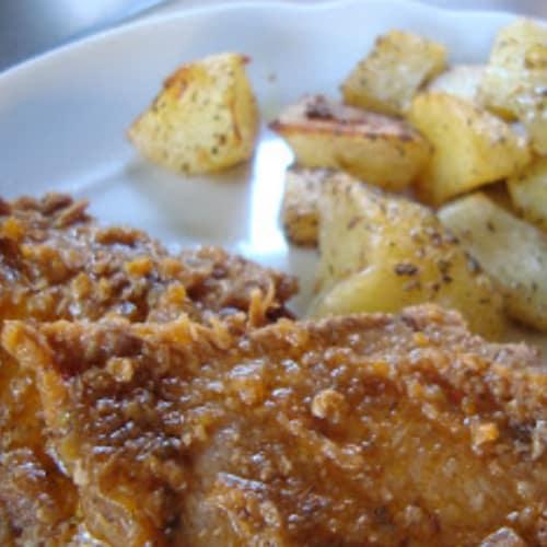 Arrosto con patate al forno