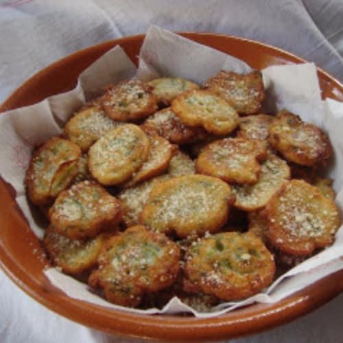 Frittelle di asparagi selvatici