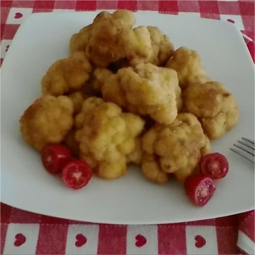 coliflor frita