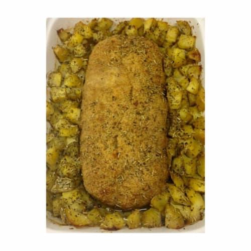 pastel de carne al horno con patatas
