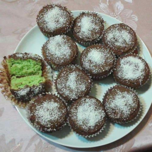 Muffin cocco menta