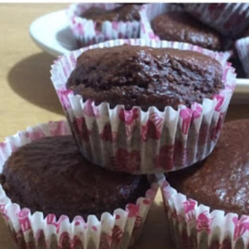 Muffin al cacao proteici