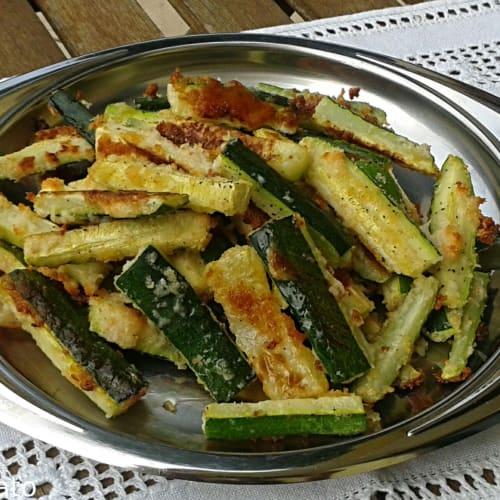 Crispy zucchini sticks