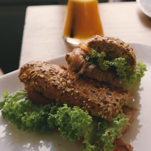 Quinoa hamburgesas