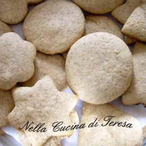 Biscotti di segale miele e cannella