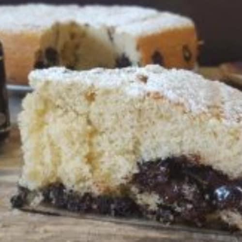 Torta panna e crema fondente