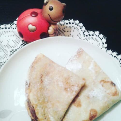 crepes dulces con Nutella