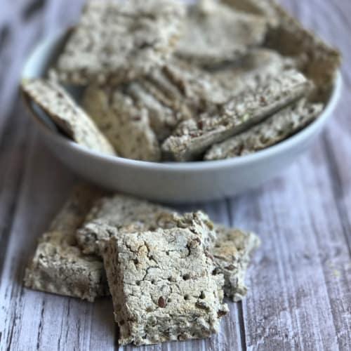 Buckwheat crackers without oven