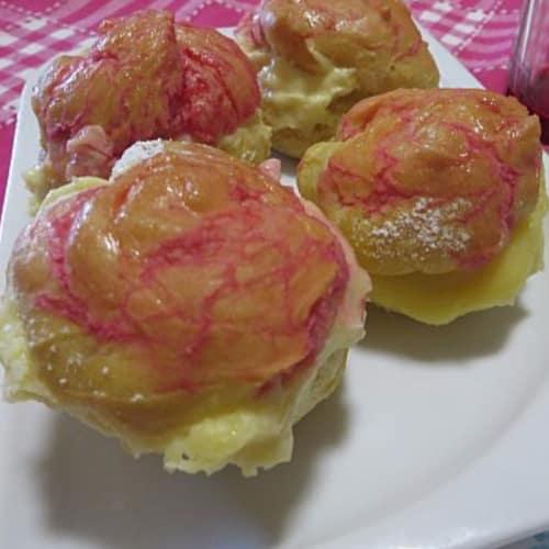 bollos de crema hechas en casa receta básica