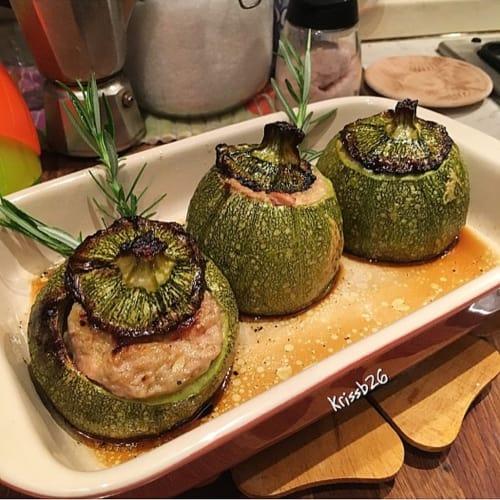 Zucchine ripiene con tonno