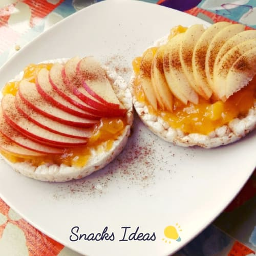 Sweet cookies with fruits