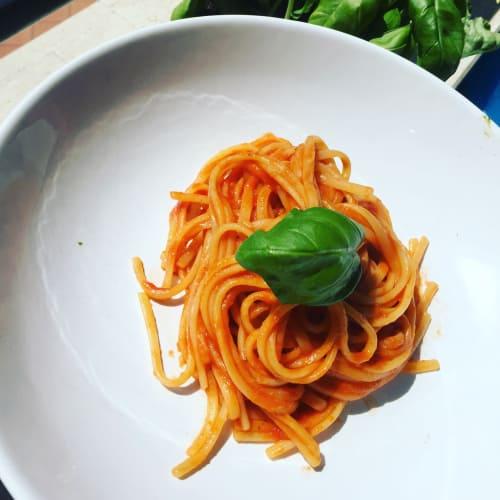 Linguini bio a 3 tomates