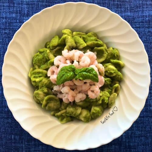Pesto de pistachos y calabacín