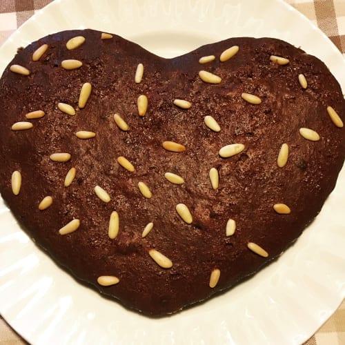 CASTAÑO y tarta de chocolate sin gluten vegano