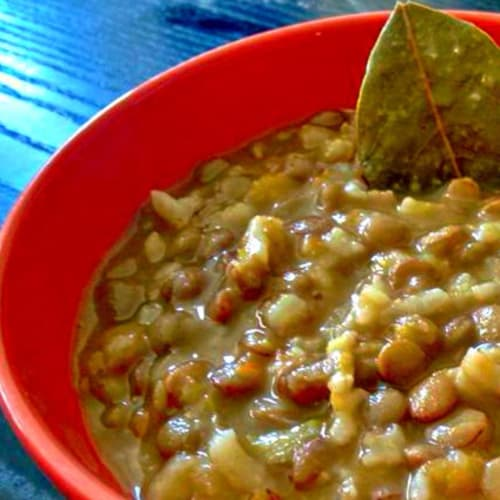 Classic preparation lentils