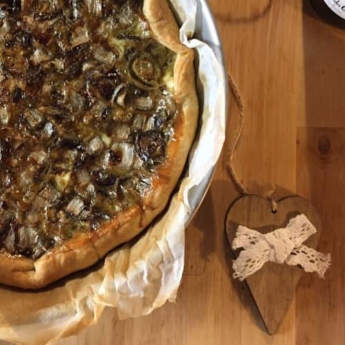 RADICCHIO TARDIVO DI TREVISO: LA TORTA SALATA