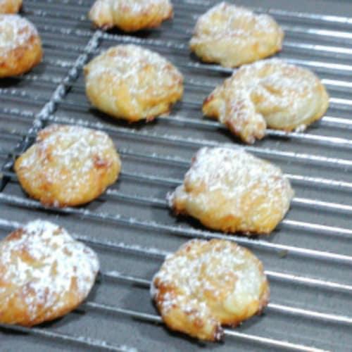 Caracolas de Hojaldre con Crema Pastelera