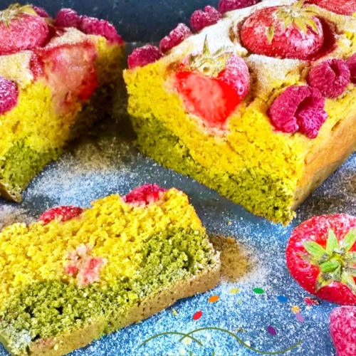 Vegan Plumcake with Fruits