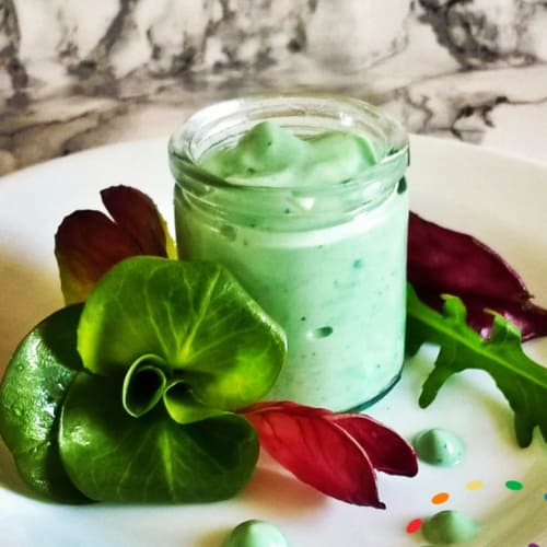 Mayonnaise Vegan with Spirulina Algae