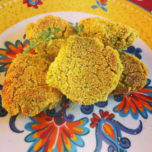 Soft zucchini dumplings