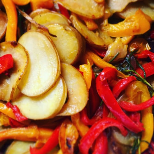 POTATOES AND PEPPERS THAT PASSION