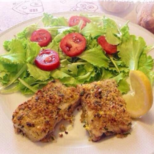 Trozos de pescado Romaña