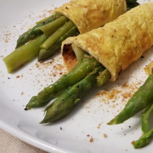 Egg Rolls With Asparagus