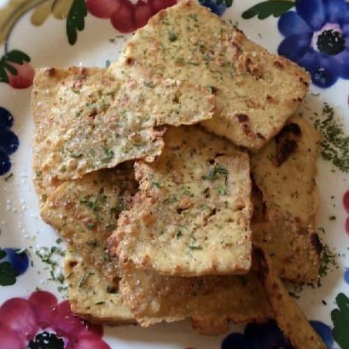 Chips di Tofu Alla Piastra