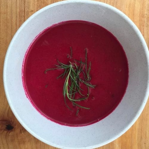 Beetroot Soup Beet with Apple