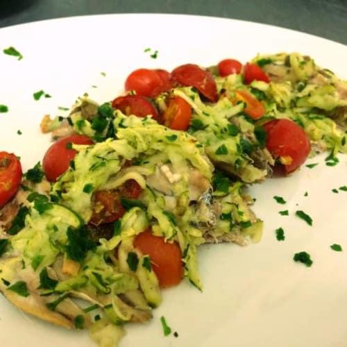Alici Alla Pizzaiola Con Zucchine