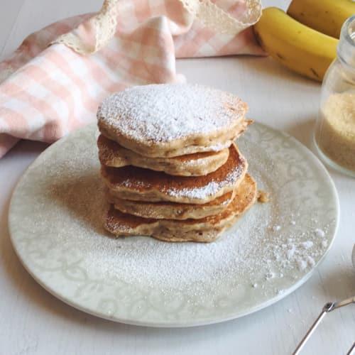 Banana vegan pancakes