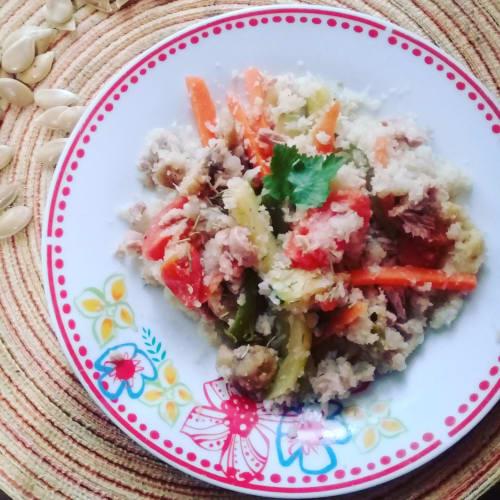 Cavolfiore riso stile orientale
