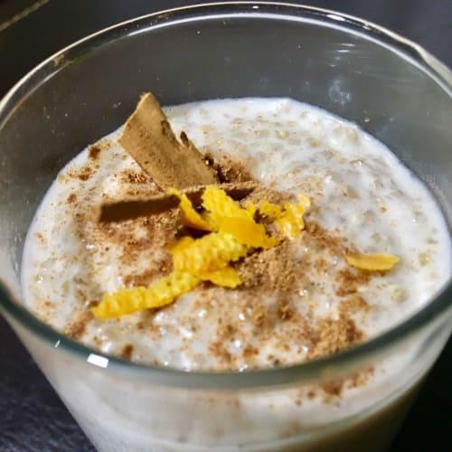 Quinoa con leche de coco