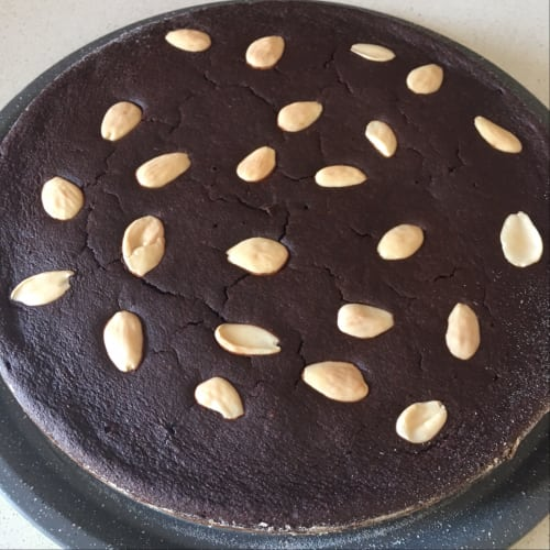 Cacao and Almonds Cake