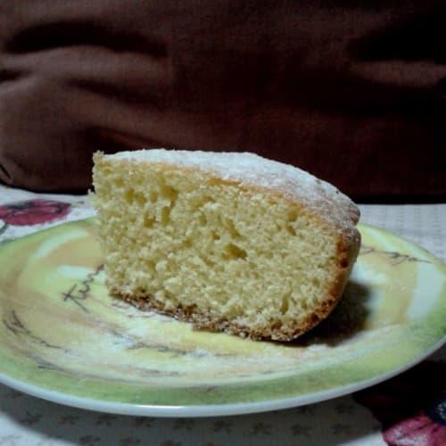 Torta al limone sul fornello