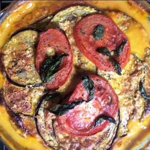 No-mass vegan lasagne