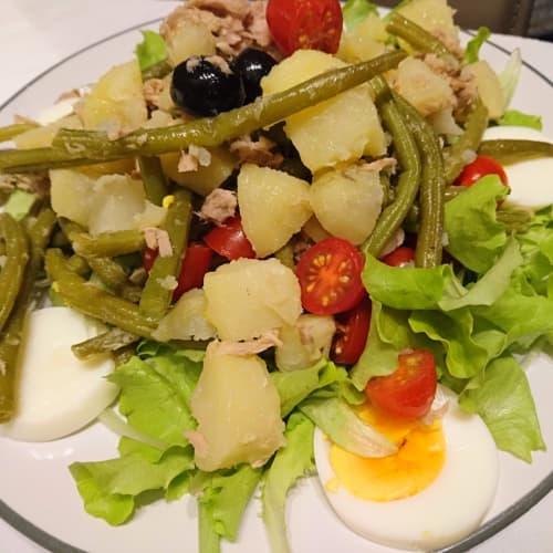 Salade niçoise mi camino