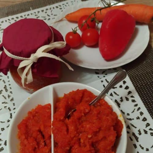 Compuesta de verduras en Agro Dolce
