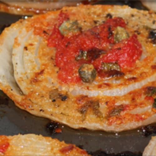 Cebolla al horno de Acquaviva