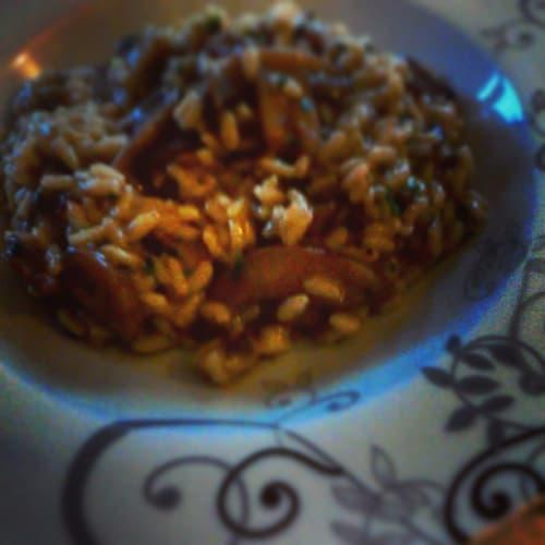 setas risotto congelado