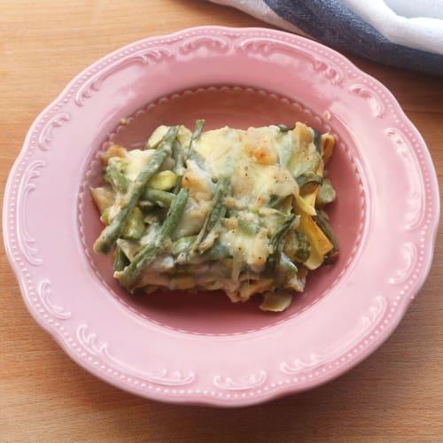 Lasagne di verdura vegan
