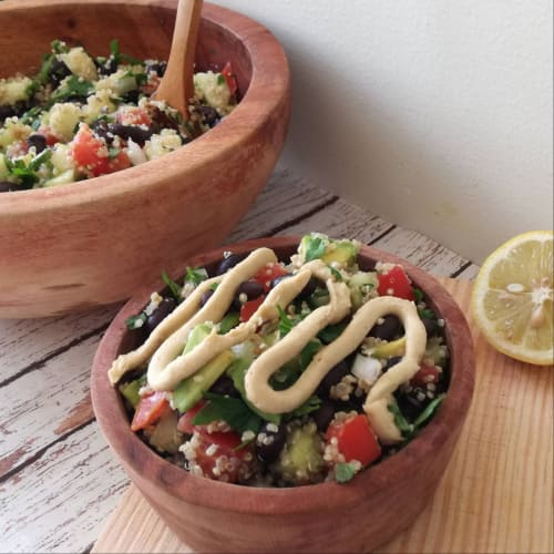 Salad from Quinoa to Mexican