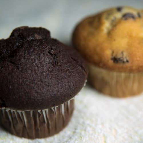 Muffins gluten, lactosa y huevos
