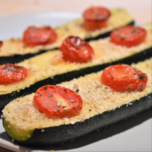 Zucchine al forno light