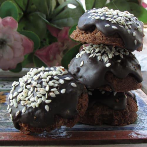 Galletas esponjosas de Garbanzos y Cacao