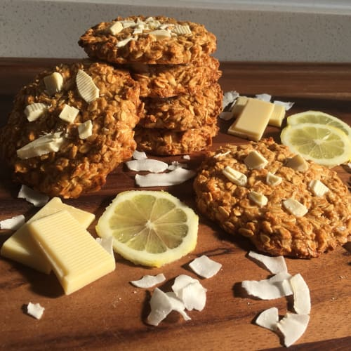 Oatmeal Cookies and Lemon