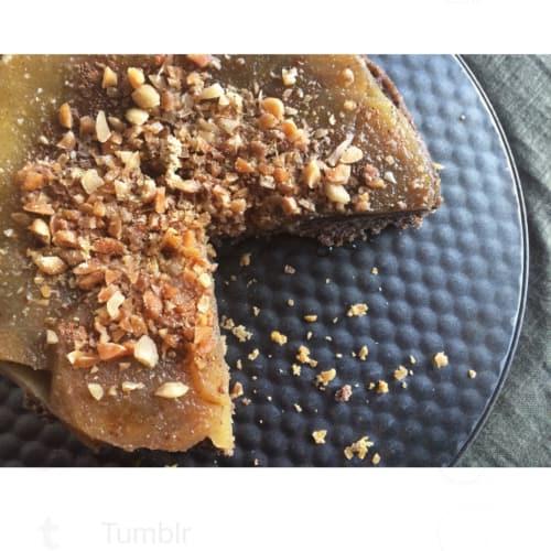 Vegan and Gluten-Free Inverted Muffin
